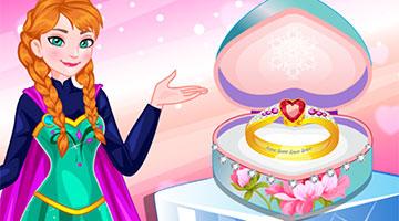 Игра Design Anna's Wedding Ring