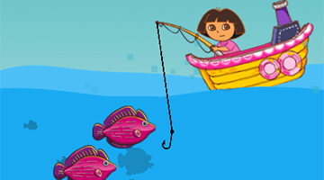 Игра Dora Fishing
