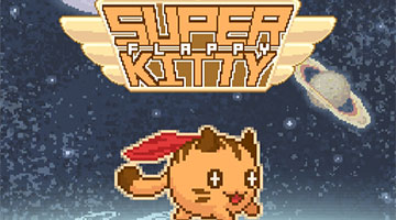 Игра Flappy Super Kitty