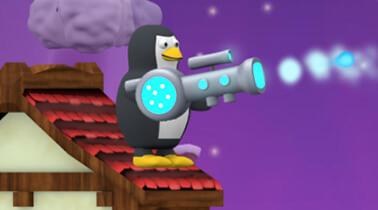 Игра Penguin vs Snowmen