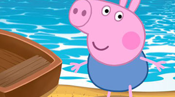 Игра Piggy Looking For The Sea Road