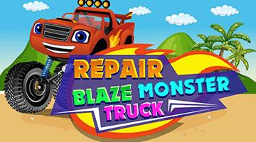 Игра Repair Blaze Monster Truck