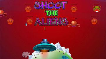 Игра Shoot The Aliens