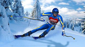 Игра Ski Rush