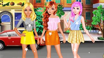 Игра Summer Short Skirts Dress Up