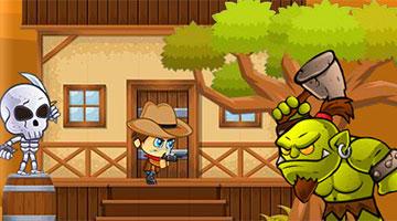 Игра Super Cowboy Run